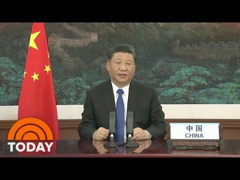 Chinese President Xi Jinping Addresses World Health Organization Summit | TODAY