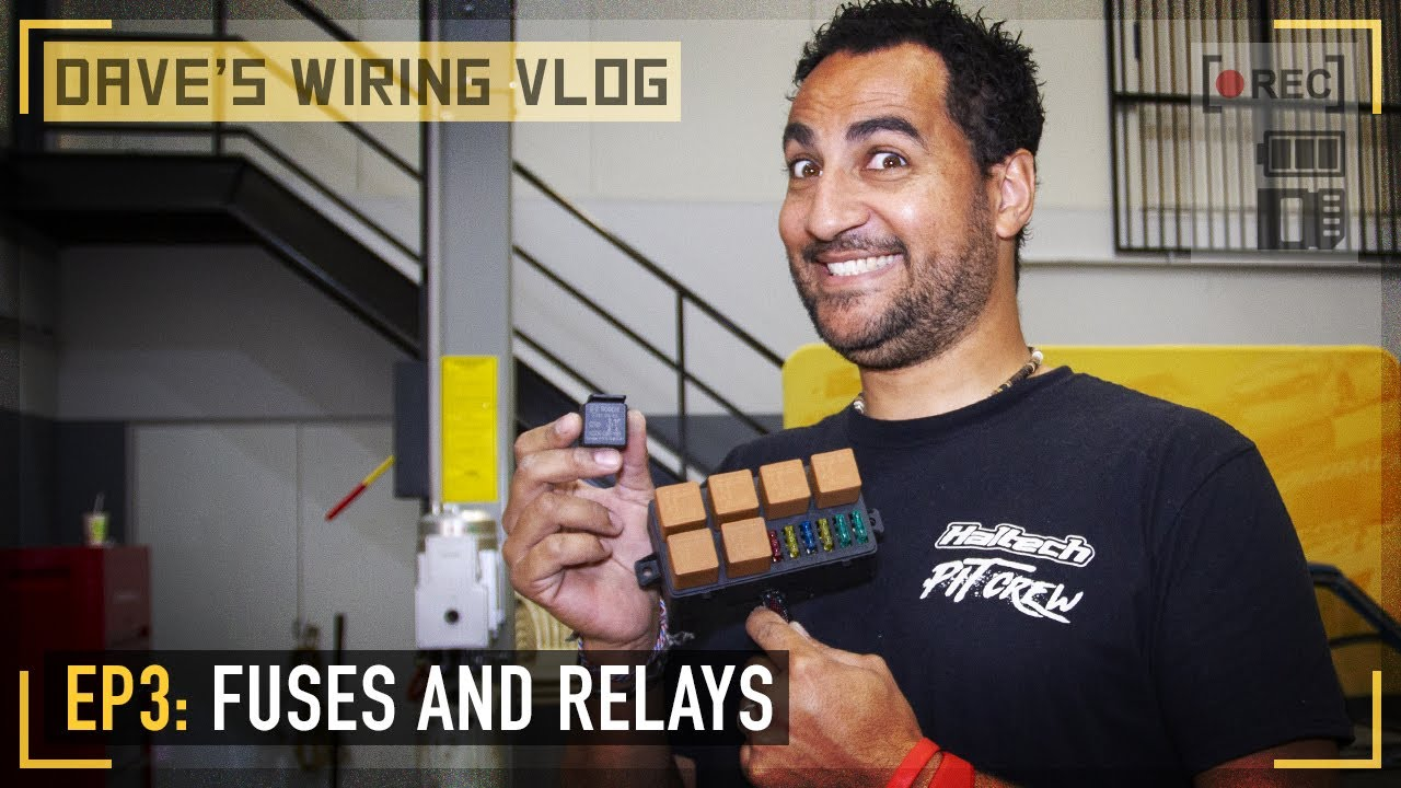 Download 🎥 Ep3: Fuses and Relays   DAVE'S WIRING VLOG