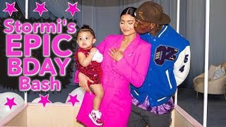 Kylie Jenner Goes ALL OUT For Stormi's First B-Day Bash