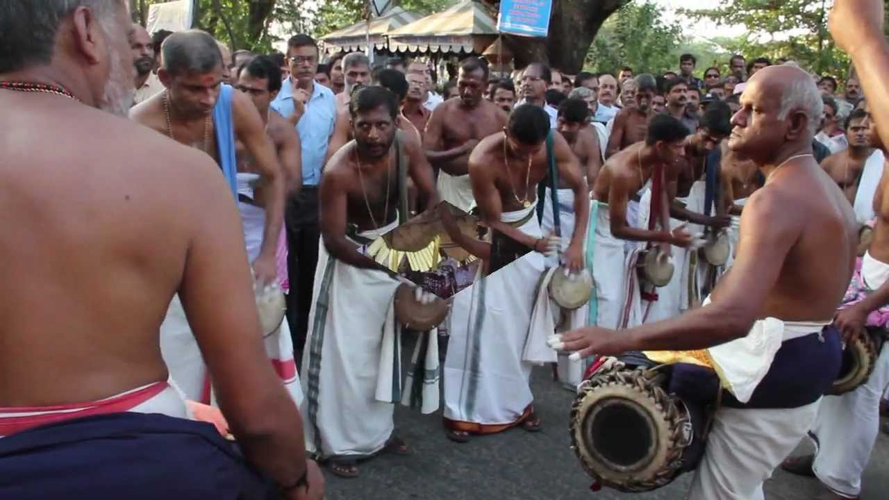 ernakulam shiva temple festival, kerala, india - youtube