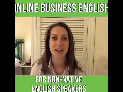 Non-native English Speakers; Building Online Businesses