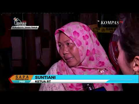 Satu Lagi Keluarga Terduga Teroris Ditangkap di Surabaya