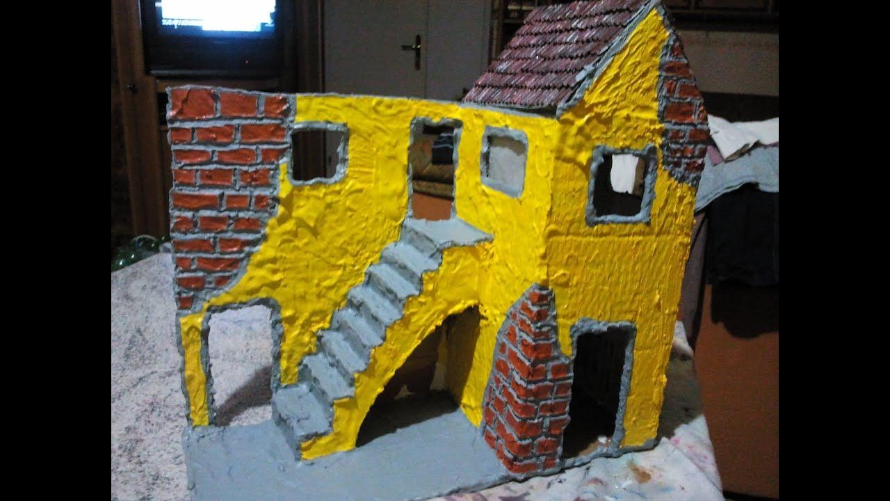 Restauro di una casa per presepe costruzione for Casa per la costruzione