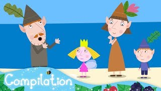 Ben and Holly's Little Kingdom | Mr. Elf Takes a Holiday | Triple Episode #12
