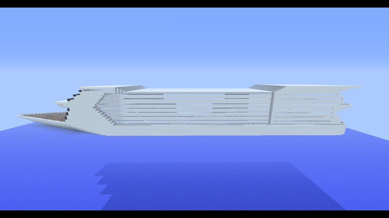 minecraft tuto bateau de croisi re part 1 youtube. Black Bedroom Furniture Sets. Home Design Ideas