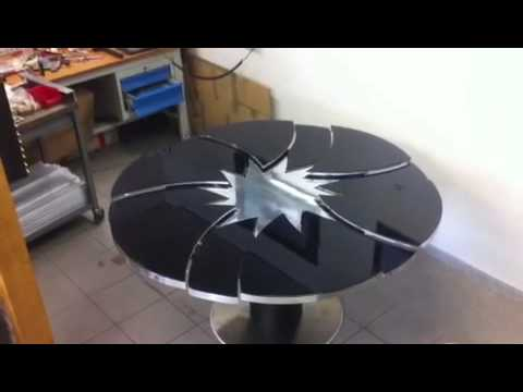 Table magique youtube for Table ronde extensible blanche