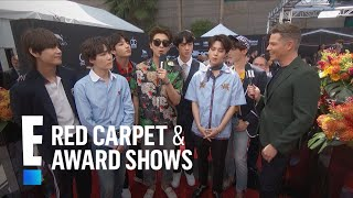 BTS Reveals Number One Social Media Rule | E! Red Carpet & Award Shows Video