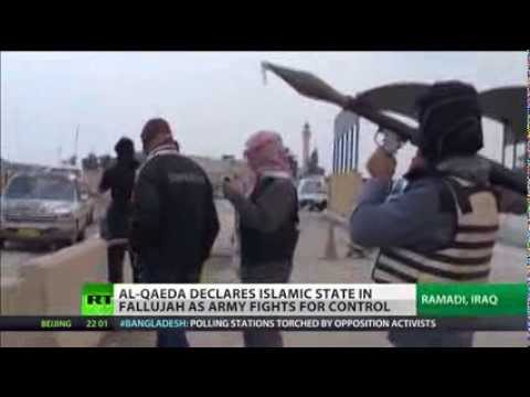 Al-Qaeda Fighters Take Iraqi City in Bloody Clash with Security Forces   Iraq 2014 Actual Events