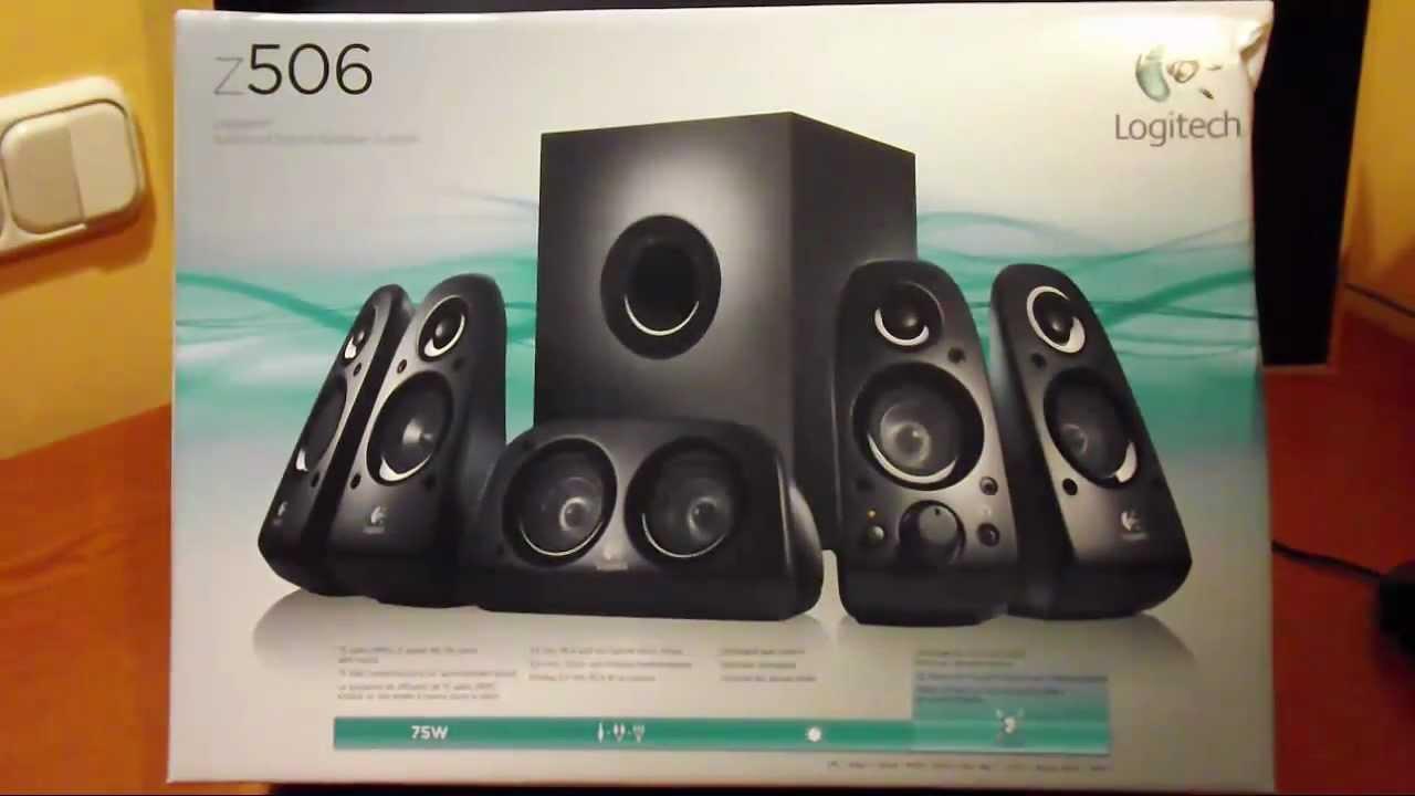 68a96b11379 Unboxing Altavoces 5.1 Logitech Z506 - Jarwer.com - YouTube