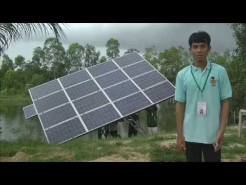 Solar water pump   water pump-Cambodia solar water pump system solar energy system
