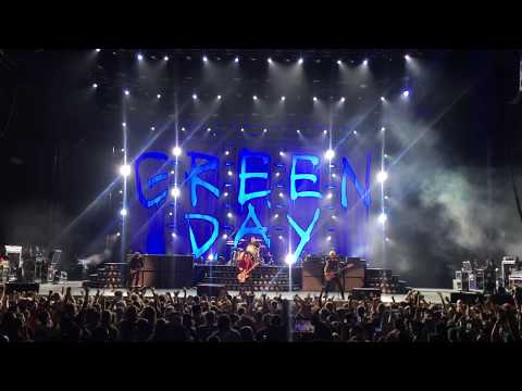 Green Day performing Basket Case live at USANA Amphitheatre 2017