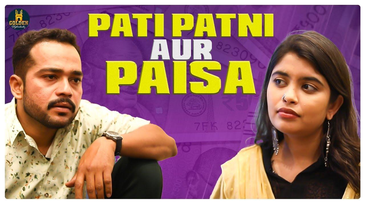 Pati Patni Aur Paisa | Hindi Comedy Video | Funny Videos 2021 | Abdul Razzak | Golden Hyderabadiz