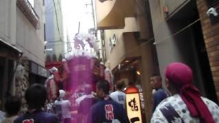 鶴橋地車曳行・鶴橋駅付近・2