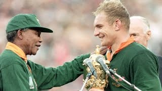 Nelson Mandela inducted to Rugby Hall of Fame - RWC 2015