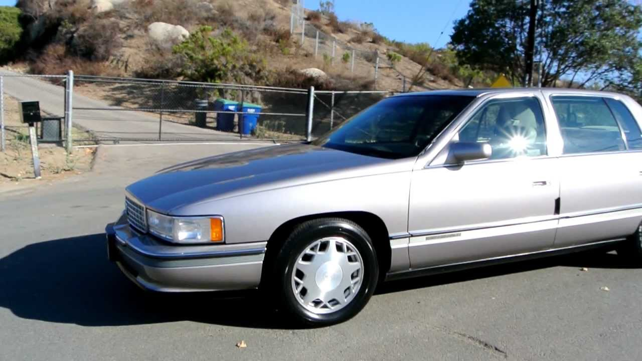 1 Owner 1996 Cadillac Deville Concours Northstar V8 Clean