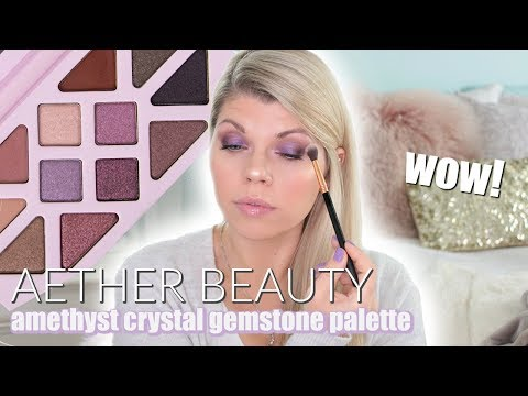 Rose Quartz Crystal Gemstone Palette by Aether Beauty #15