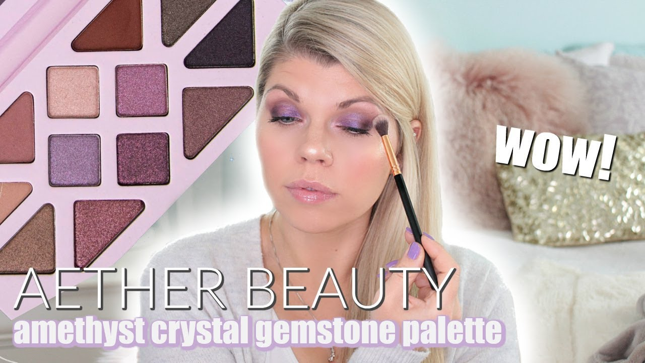 Rose Quartz Crystal Gemstone Palette by Aether Beauty #17