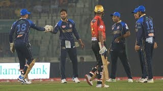 Shakib Al Hasan's 3 Wickets Against Comilla Victorians | 26th Match | Edition 6 | BPL 2019