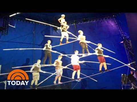 Terrifying Video Emerges Of Wallenda High-Wire Accident | TODAY