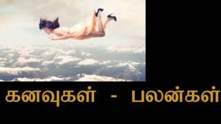 கனவுகளின் பலன்கள் | Kanavugalin palangal in tamil