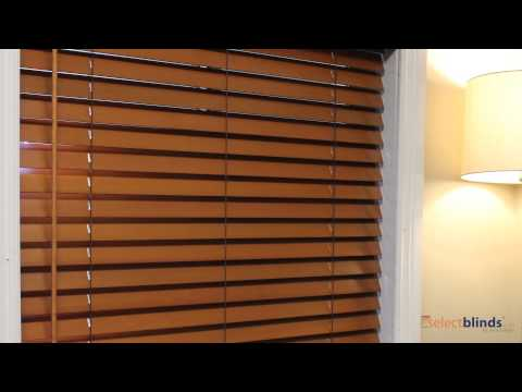 Cordless Wood Blinds from Selectblinds.ca