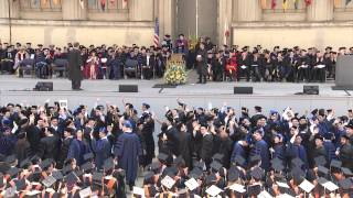 Graduate Commencement 2014, Berkeley Engineering