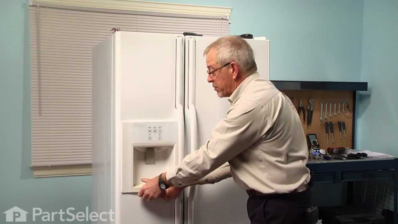 Refrigerator Repair Replacing The Actuator Pad Whirlpool