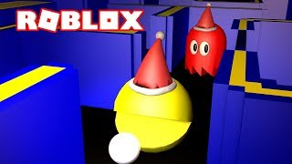 CHRISTMAS PACMAN IN ROBLOX!!! | MicroGuardian