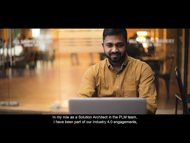 Meet Muthuraman, Solution architect PLM, who helps power up ITC Infotech's Global Leadership