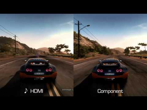 AVer 3D Capture HD test - HDMI vs Component (NFS HP)