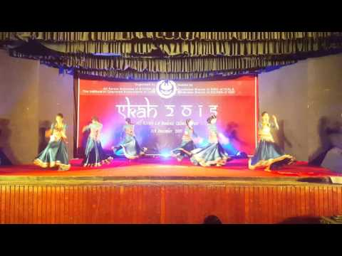 Prize winning dance by TVM SICASA for EKAH 2015