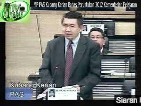 MP PAS Kubang Kerian Bahas Peruntukan 2012 Kementerian Pelajaran