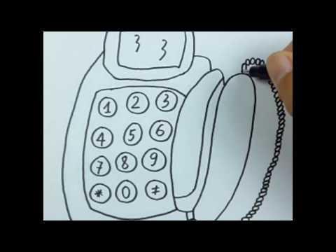 drawing a Telephone - Myhiton