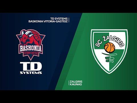 TD System Baskonia Vitoria-Gasteiz - Zalgiris Kaunas Highlights   EuroLeague, RS Round 23