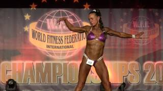 Loretta Mannering – Competitor No 69 – Women  Superbody - WFF World Championship 2016