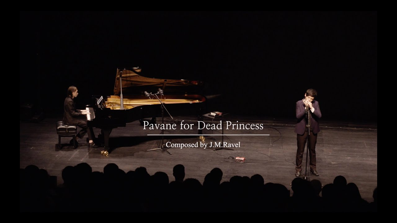 Ravel - Pavane for Dead Princess (Live) | Jang Li & Morris Jin | The Harmonica Age