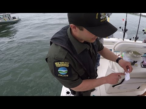Expired Fishing License! - What Will It Cost? Police Vessel Boarding