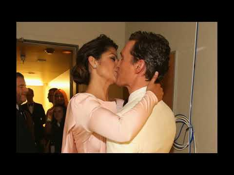 Family Actor Matthew McConaughey And His Wife Model Camila Alves And Children