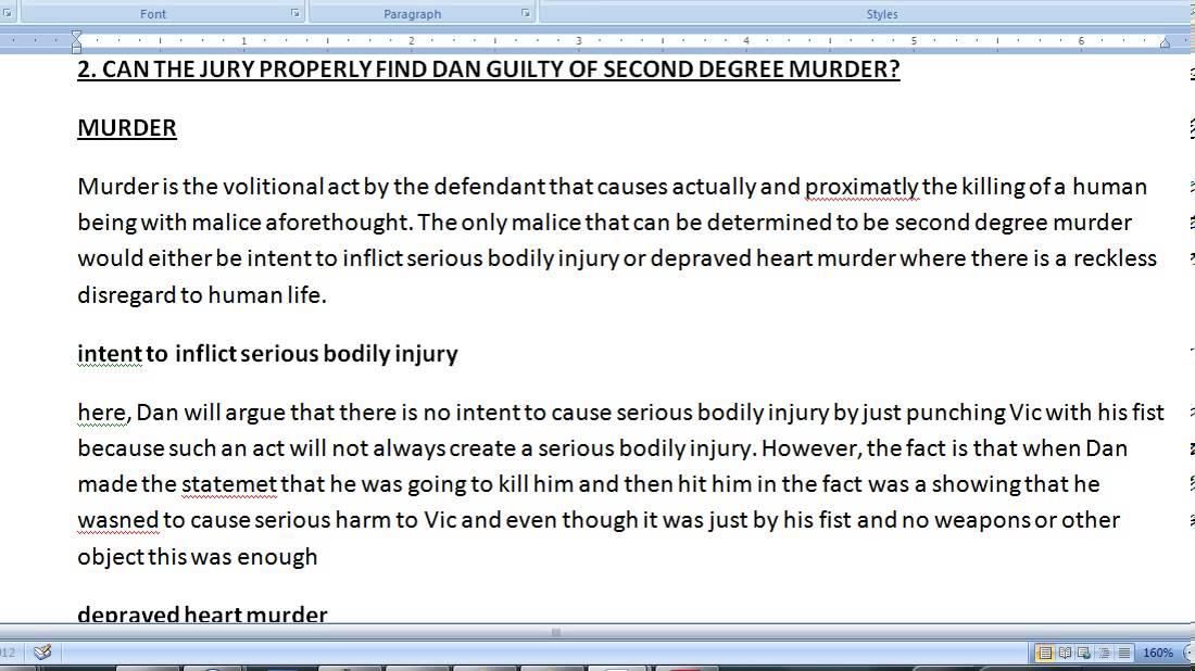 Pass the CA (California) Bar Exam - How to write the February 2007 -  criminal procedure essay