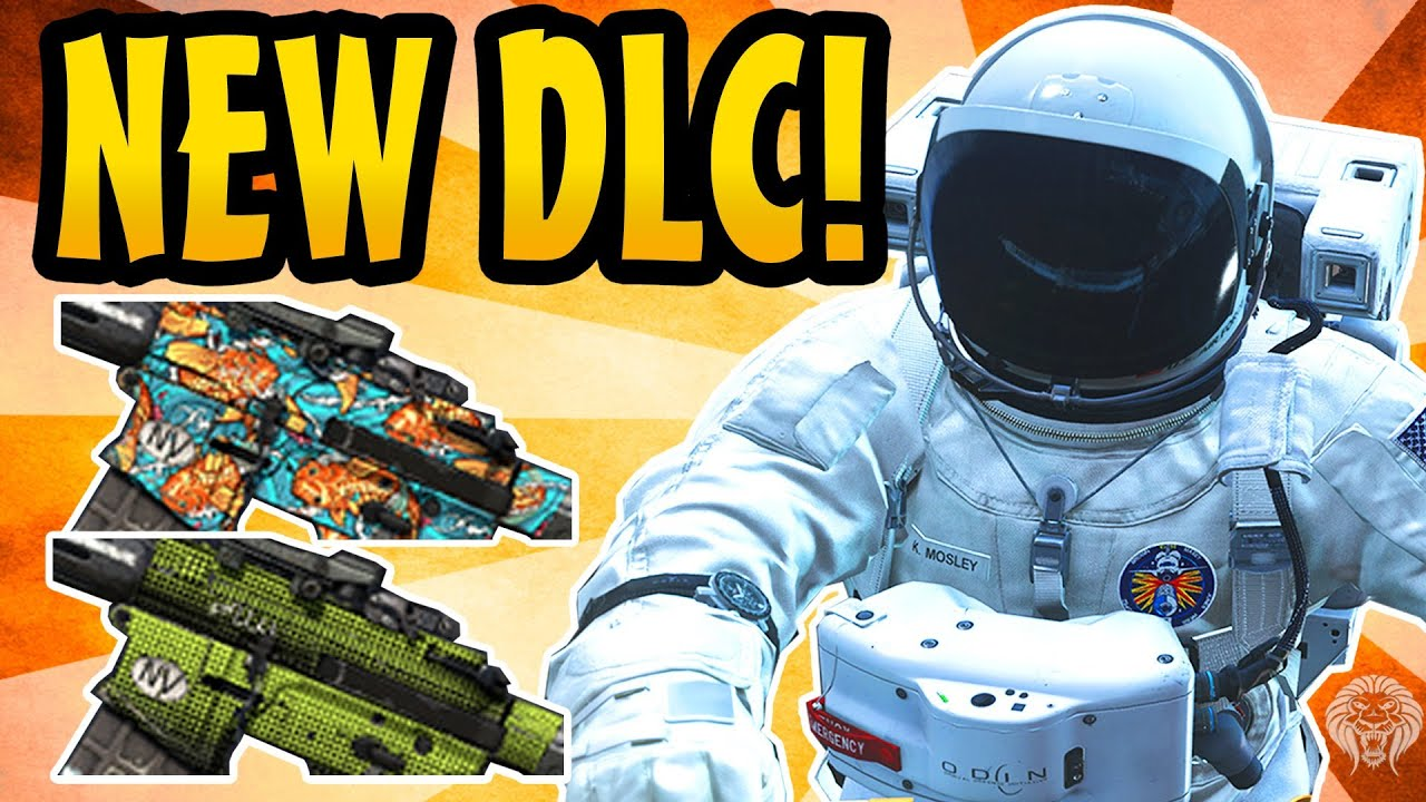 COD Ghosts NEW DLC Astronaut Skin Spectrum Pack 6 New