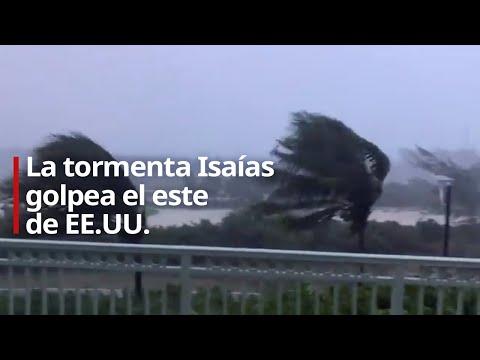 La tormenta Isaías golpea el este de EE.UU.