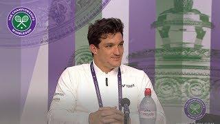Gustavo Fernandez Winner's Press Conference Wimbledon 2019