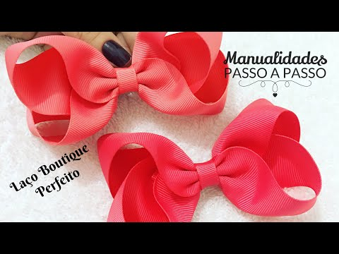 Diy - Laço Boutique Perfeito - Pap Make to hair bow