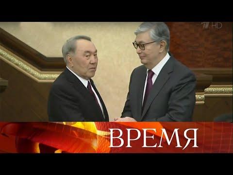 В Казахстане принял присягу новый президент Касым-Жомарт Токаев, Дарига Назарбаева возглавила сенат.
