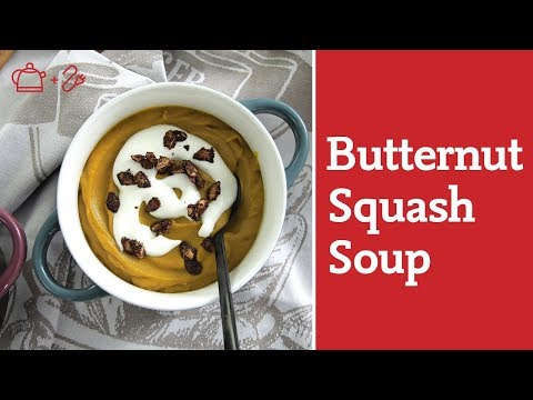 The Perfect 5-minute Fall Squash Soup in a Vitamix