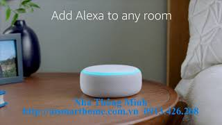 AI Smart Home Loa Thông Minh Amazon Echo