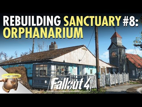 REBUILDING SANCTUARY HILLS with General Dave | Ep. 8 - Orphanarium and Schoolhouse