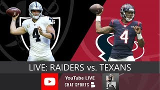 Raiders vs. Texans LIVE Watch Party With Mitchell Renz (10/27/2019)