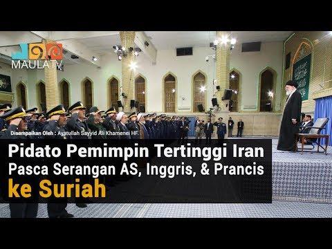 Pidato Pemimpin Tertinggi Iran Pasca Serangan AS, Inggris, Prancis ke Suriah
