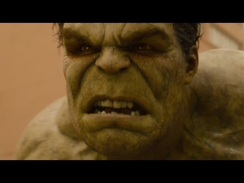 Avengers 2: Age of Ultron   Hulk vs. the Hulkbuster FIRST LOOK clip (2015)